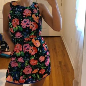 floral dress with pockets!!!